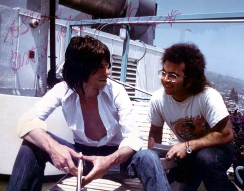 Steven Rosen with Jeff Beck